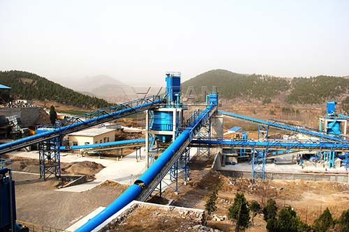 Weifang sand production line