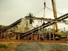 200t/h granite crushing production line in Sri Lanka.
