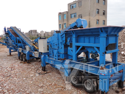 mobile concrete crusher plant