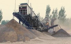 YIFAN Mobile Concrete Crusher Helps with Puyang Construction